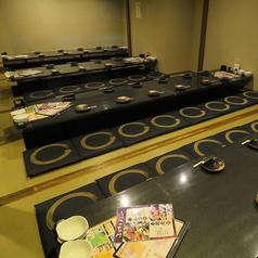 こちらは40名様以上用個室。各種宴会などに最適のお部屋です♪団体様でも必ず完全個室へとご案内させて頂きます。
