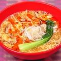 料理メニュー写真酸辣湯麺(サンラータンメン)/激辛酸辣湯麺