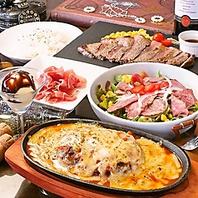 コース料理もチーズとお肉中心です♪