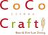 CoCo Craft ここくらふとのロゴ
