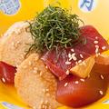 料理メニュー写真鮪と山芋のづけ和え