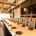 【横浜駅×NEWOPEN】テーブル席は少人数から大人数までご予約可能です。