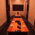 【完全個室のお座席】4~18名様