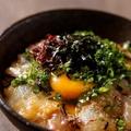料理メニュー写真賄い海鮮丼
