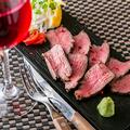 料理メニュー写真和牛ランプローストビーフ