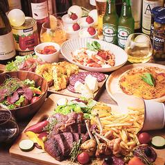 #お肉とチーズとワイン next..肉MARKET 天王寺店のコース写真