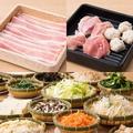 料理メニュー写真ディナー【C】 豚バラ&鶏 食べ放題コース[100分]