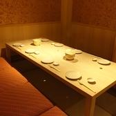 6名様のl掘りゴタツの個室★テーブル個室もございます。