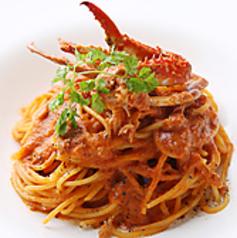 料理メニュー写真渡り蟹のオーロラソース