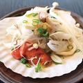 料理メニュー写真ホタテ味噌バター焼き〈1ヶ〉