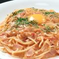 パスタ、お肉、魚のメイン料理など、洋食がいろいろ楽しめます♪