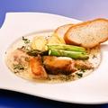 料理メニュー写真白身魚のホワイトソース