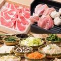 料理メニュー写真ディナー【D】 豚肩ロース&鶏 食べ放題コース[100分]
