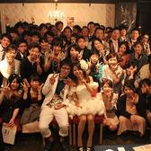 集合写真1☆大切な仲間達にアットホームな雰囲気の中で祝福され幸せオーラ全開です!※写真はイメージです。
