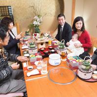 お子様からご年配のお客様まで、心地よくお食事できます