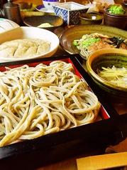 ライラック蕎麦の写真