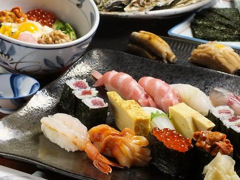 良質な食材を少量で仕入れるという拘りをもつ空海。おまかせがなんと5500円(要予約)