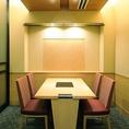 2階 個室 テーブル席2名様から4名様でご利用頂けます。