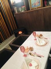 バレンタインデー・ホワイトデー・バースデー・アニバーサリー等お二人だけの、大切な時間をお過ごしください。※要予約※コース料理ご注文のお客様限定