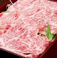 ご注文頂いてから牛肉をスライス致します。