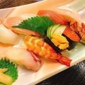 料理メニュー写真特上握り寿司