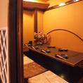 京風の店内は個室も多数ご用意しております