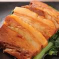 東坡肉(豚角煮)青菜添え 900円