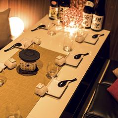 オシャレな個室で非日常なひとときをお過ごしください♪宴会個室を各種ご用意しているので幅広いシーンのご利用いただけます!