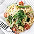 料理メニュー写真旬野菜のペペロンチーノ