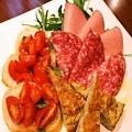 料理メニュー写真IL BOSCHETTO 前菜の盛り合わせ(一人前/二人前)