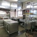 清潔な厨房は厚生労働大臣からも表彰されました。
