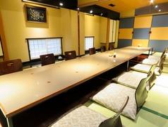 ご宴会に最適な座敷もございます。収容人数など詳細はお問い合わせください。