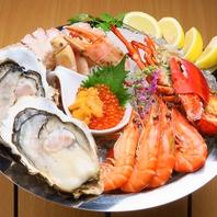 厳選された食材!『蟹・海老・牡蠣』
