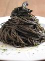 料理メニュー写真イカスミのスパゲッティーニ