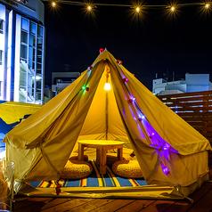 ビアガーデン Glamping terrace W.Ru グランピング テラス ダブルの特集写真