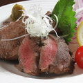 料理メニュー写真厚切りタンステーキ