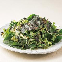 ほうれん草と水菜のチョレギサラダ