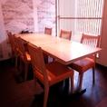 4~6名様にてご利用頂ける個室テーブル席!