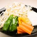 料理メニュー写真野菜3品