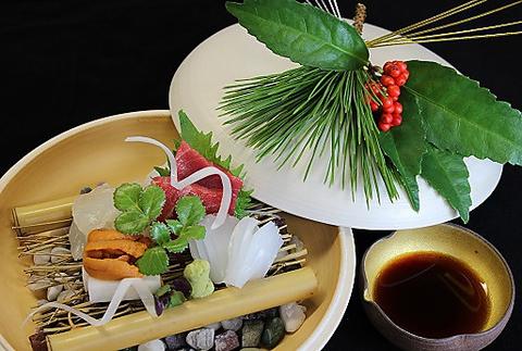 【ご夕食】日本料理 −懐石−