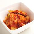 料理メニュー写真ポテトサラダ・キムチ・チャンジャ・オニオンスライス・冷やしトマト