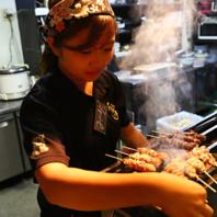 【こだわり!】紀州備長炭で焼き上げる地鶏は絶品!
