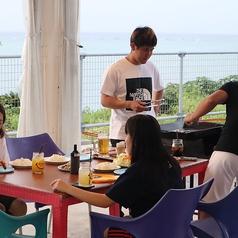 今帰仁Blue Cafeのコース写真