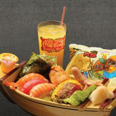 料理メニュー写真お子様寿司セット