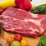 当店の牛肉は旨味たっぷり100%アメリカンビーフ