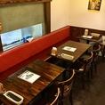 まるでStylishBarのようなお洒落な雰囲気のテーブル席は2名~8名様でのご利用が可能です♪ご宴会や飲み会、接待、女子会、デート、誕生日会など各種宴会に最適◎