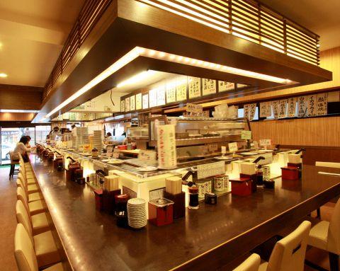 お手軽に本格的なお寿司を食べたいならココ!渋谷で一番最初にできた回転寿司店!