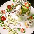 料理メニュー写真記念日デザート盛り合わせ