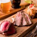 料理メニュー写真おまかせ炭火焼肉盛り3種