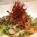 料理メニュー写真さきいかカリカリくんサラダ/長芋大根さっぱりサラダ